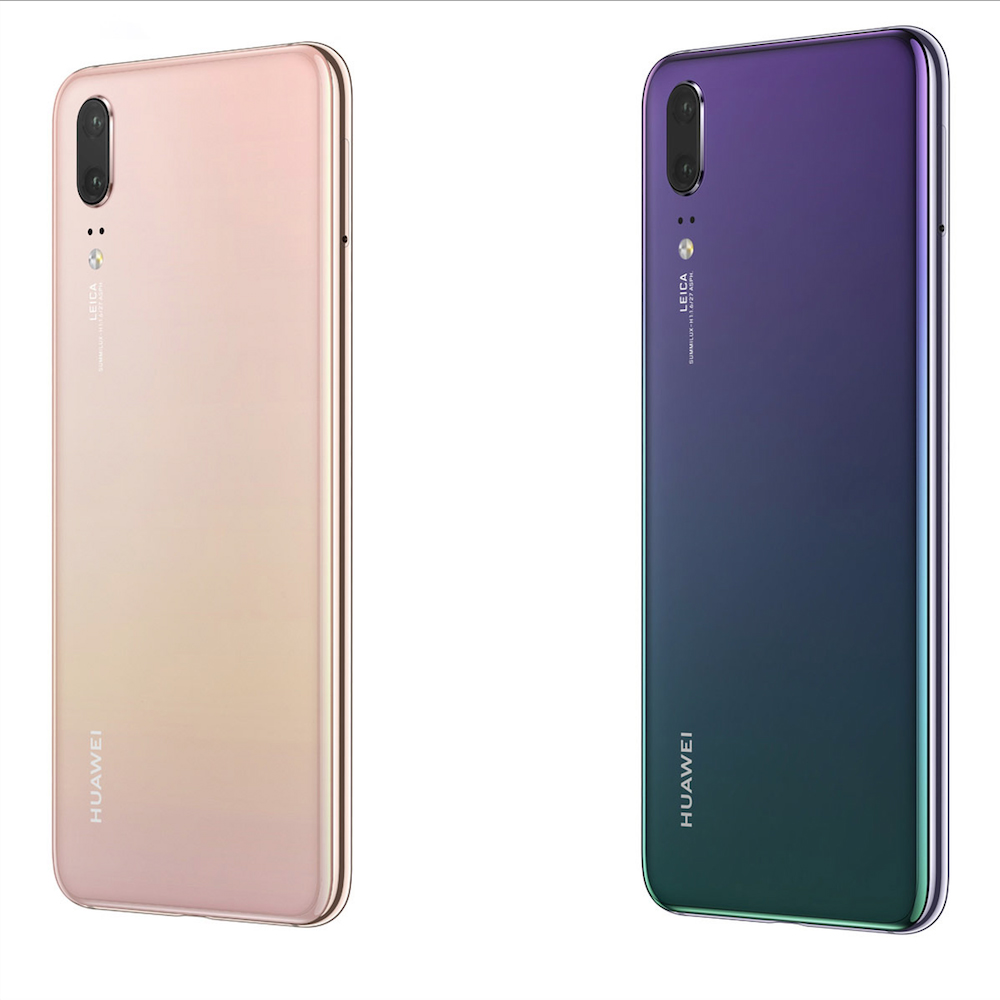 Huawei P20 Image - P20 Pro in two new colourways, Twilight and Pink Gold