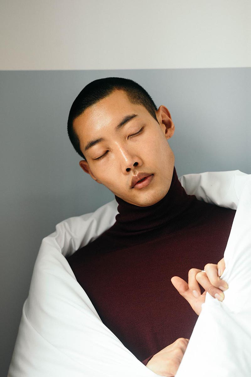 Wonsik Yoon photographed by Adrian Richards, styled by Geoff K. Cooper for Sagaboi.