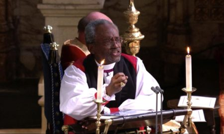 Bishop Michael Curry at the Royal Wedding of Prince Harry and Meghan Markle