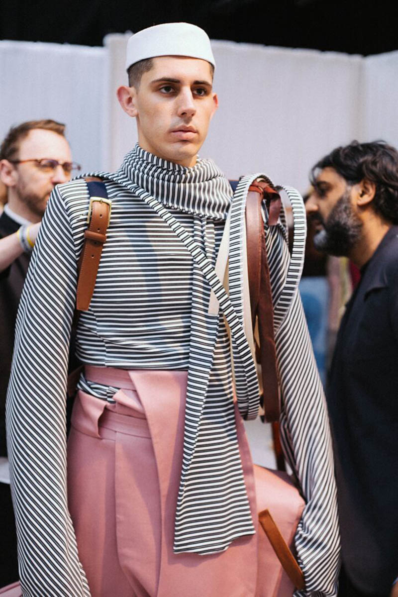 Sagaboi's top 10 menswear designers at Graduate Fashion Week. Photography by Jade Berry