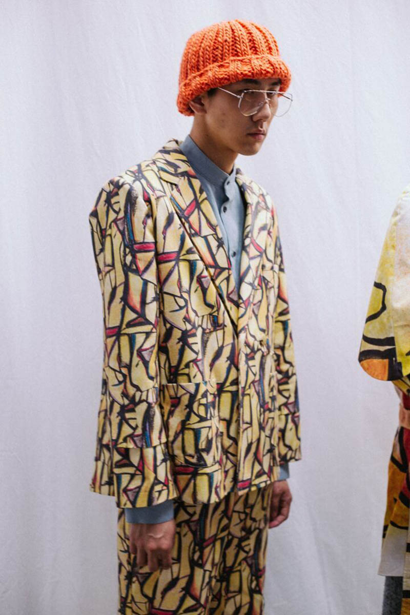Sagaboi's top 10 menswear designers at Graduate Fashion Week. Ph