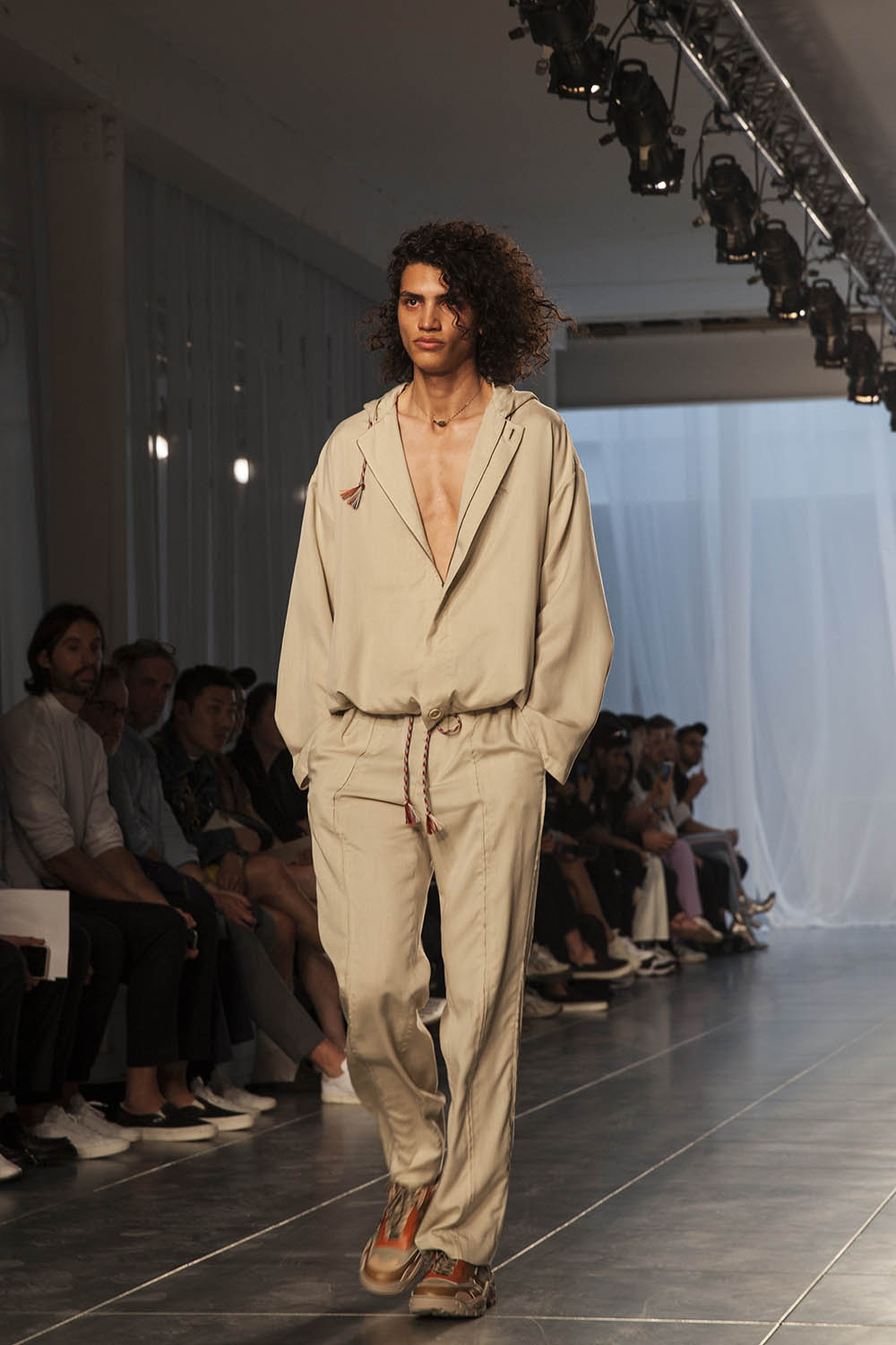 Qasimi SS'19 Show at London Fashion Week Men's by Caoimhe Hahn for Sagaboi. June 09 2018