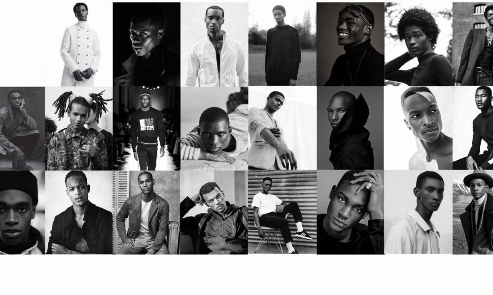Top 33 Black Male Models - Sagaboi