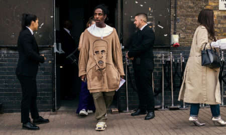 Shaquille-Aaron (Shaka) Keith from PAQ Official captured outside the men's fashion shows at London Fashion Week Men's. (LFWM Street Style by Olajide (JJ) Smith (Spotted By Mr. Smith for Sagaboi. Diversity in Street Style. Representation in stock imagery.