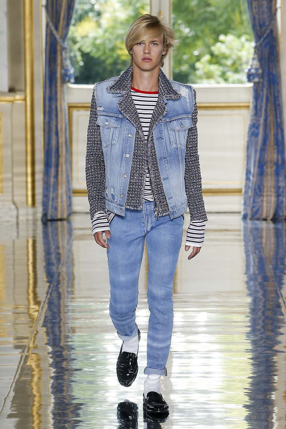 Balmain Paris Fashion Week Men's SS19 - Sagaboi - Look 10