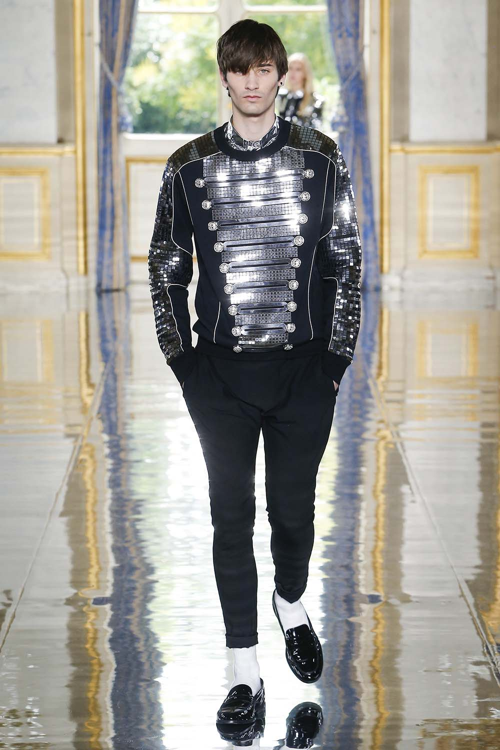 Balmain Paris Fashion Week Men's SS19 - Sagaboi - Look 100