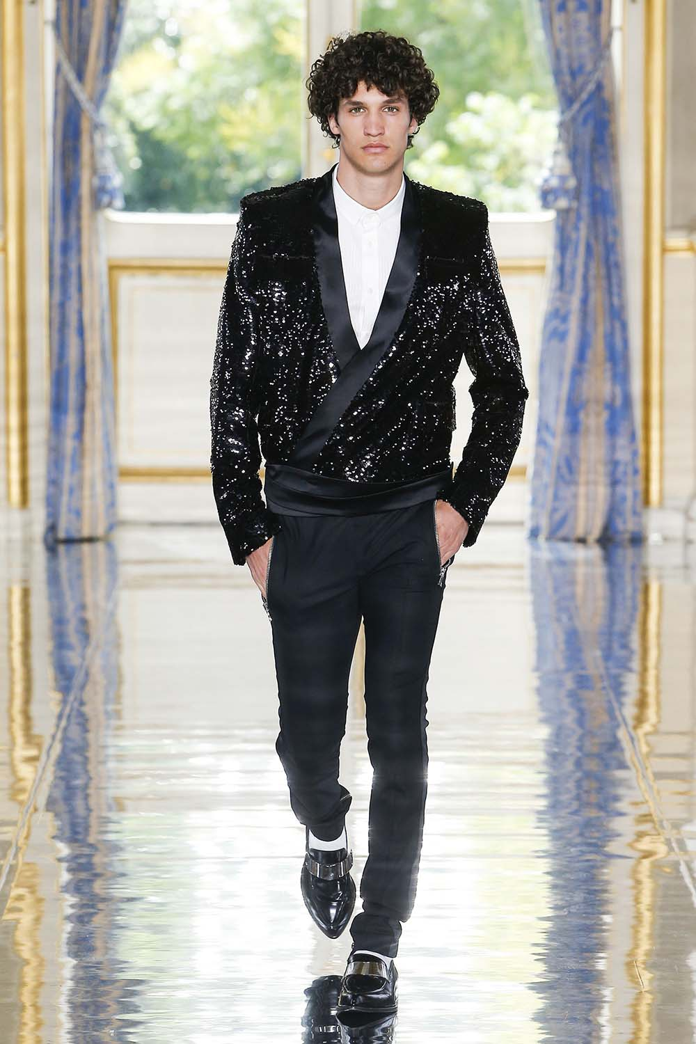 Balmain Paris Fashion Week Men's SS19 - Sagaboi - Look 102