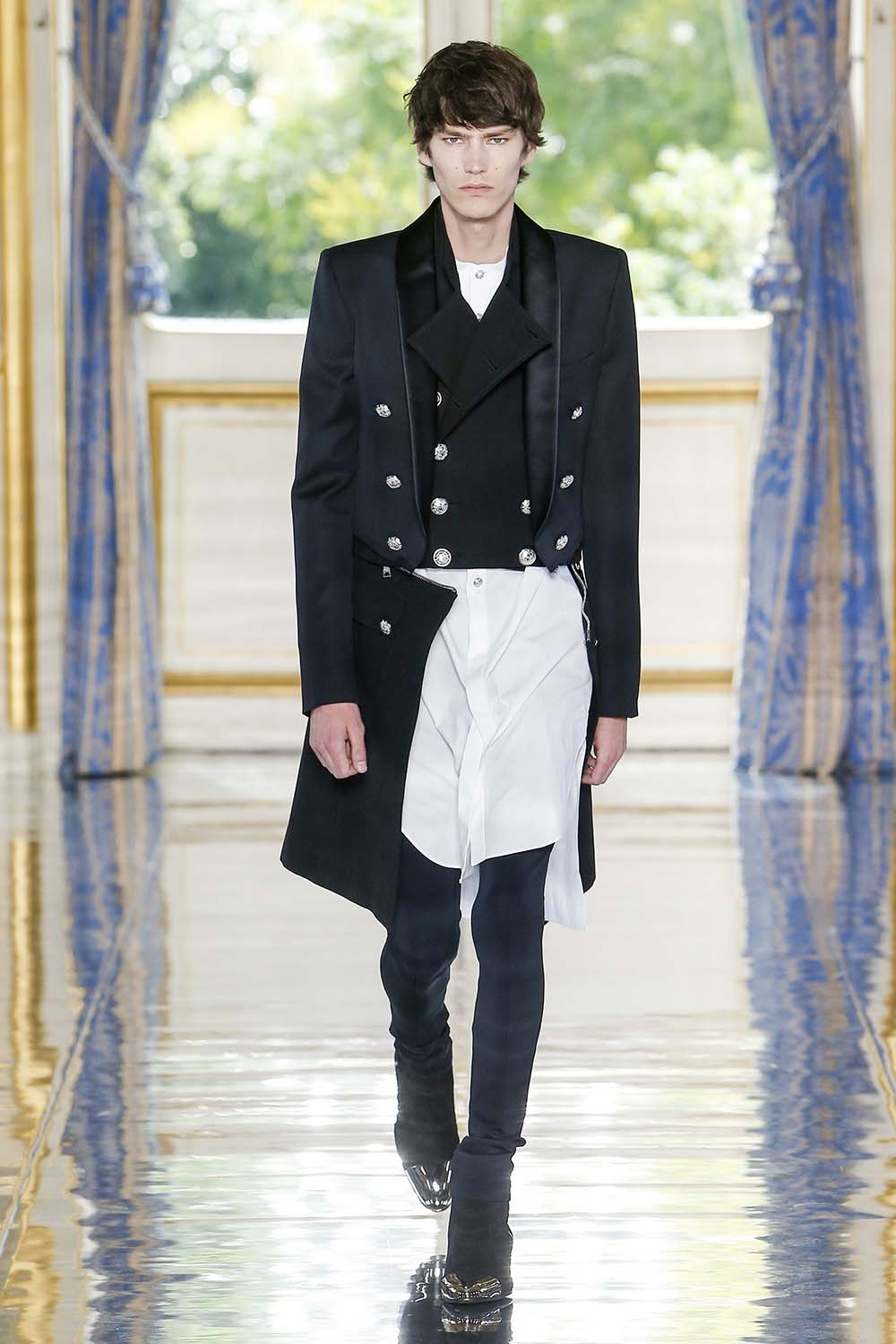 Balmain Paris Fashion Week Men's SS19 - Sagaboi - Look 110