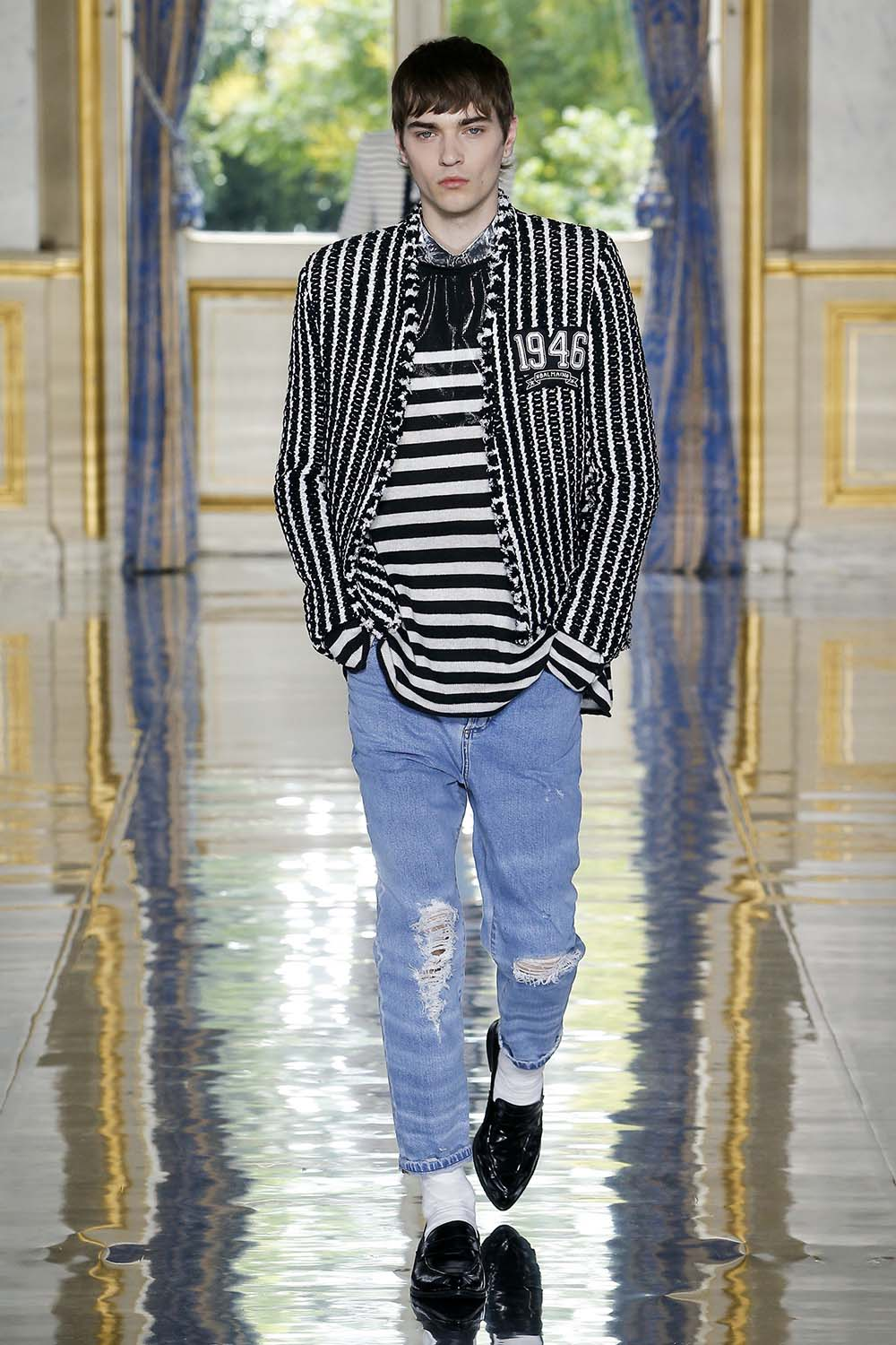 Balmain Paris Fashion Week Men's SS19 - Sagaboi - Look 19