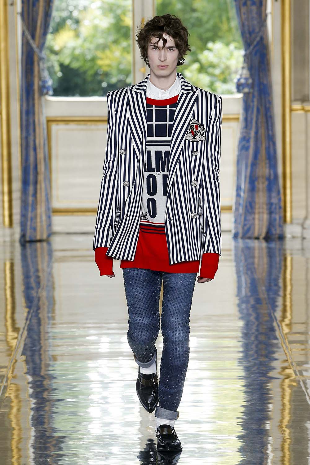Balmain Paris Fashion Week Men's SS19 - Sagaboi - Look 2