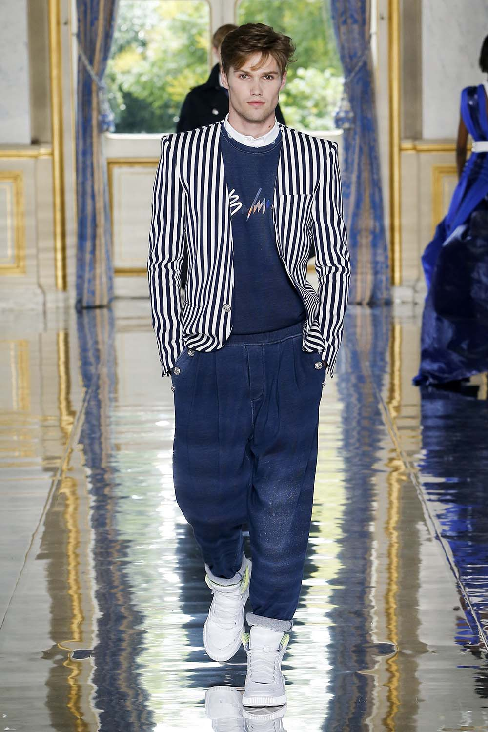 Balmain Paris Fashion Week Men's SS19 - Sagaboi - Look 22