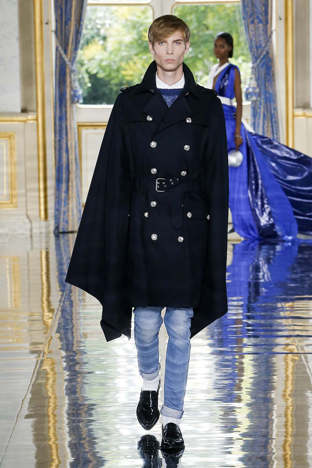 Balmain Paris Fashion Week Men's SS19 - Sagaboi - Look 23