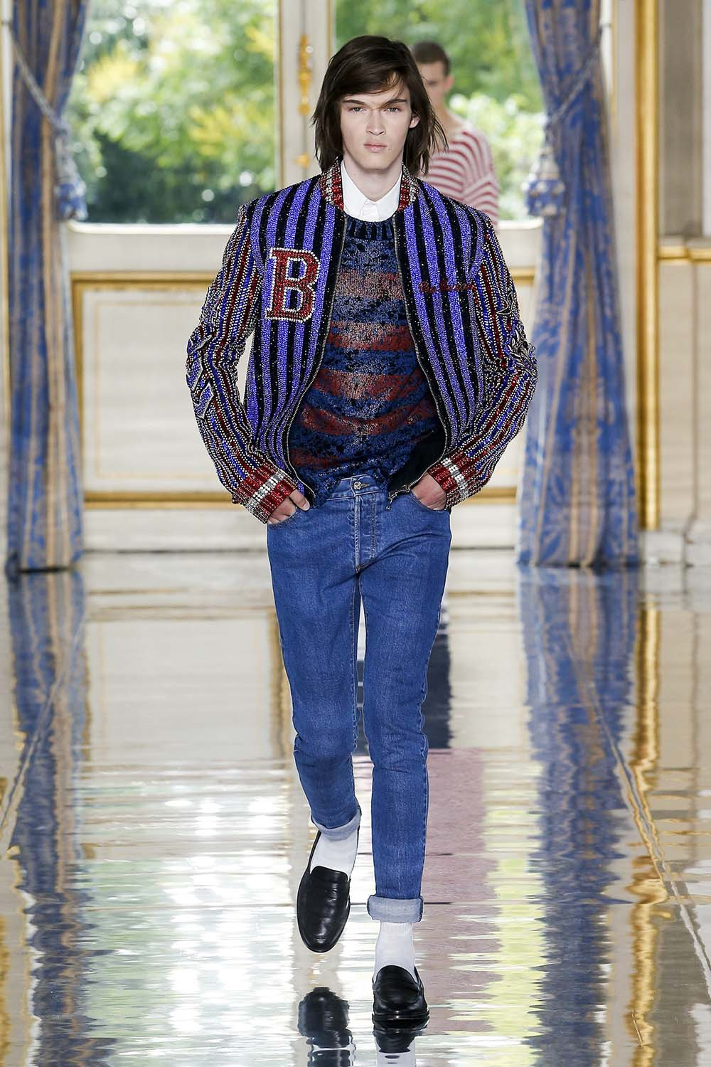 Balmain Paris Fashion Week Men's SS19 - Sagaboi - Look 26