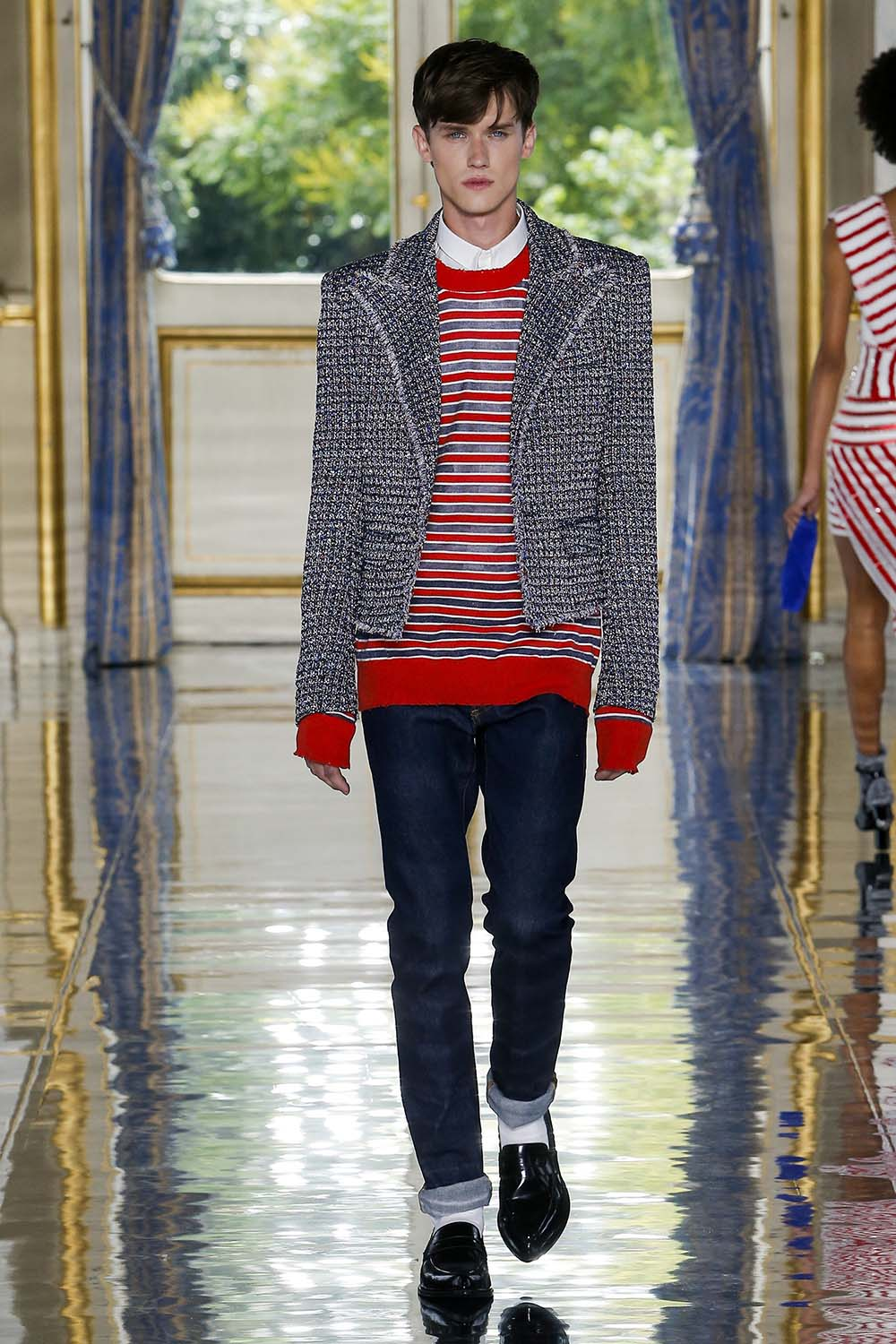 Balmain Paris Fashion Week Men's SS19 - Sagaboi - Look 31