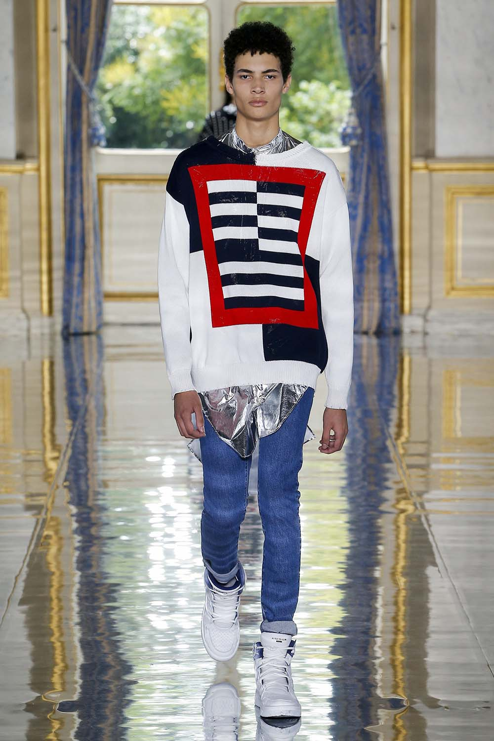 Balmain Paris Fashion Week Men's SS19 - Sagaboi - Look 33