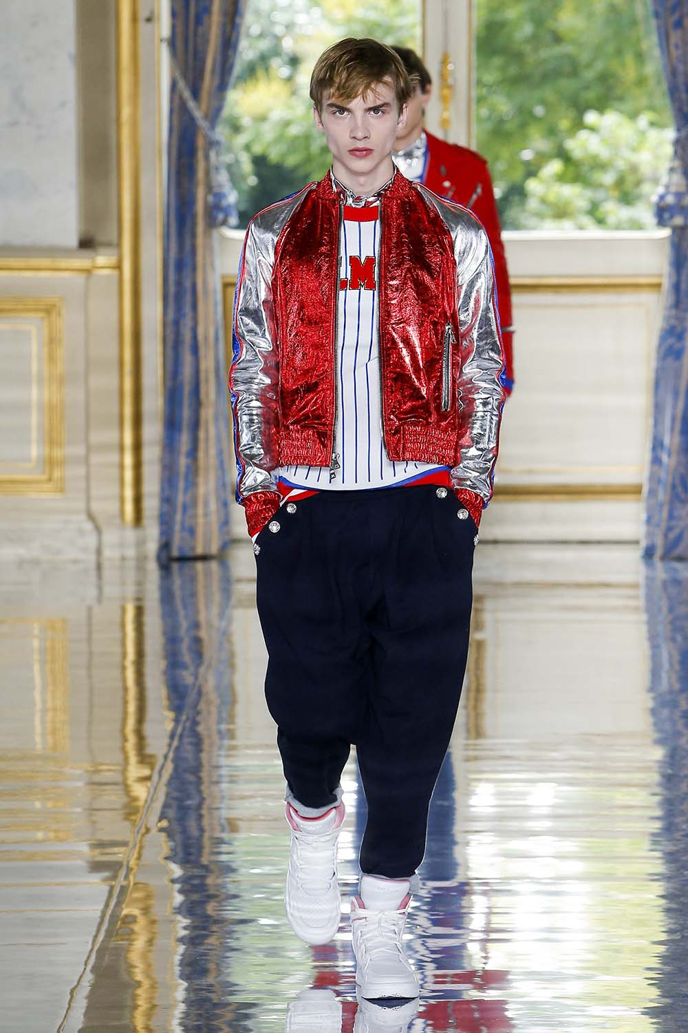 Balmain Paris Fashion Week Men's SS19 - Sagaboi - Look 38