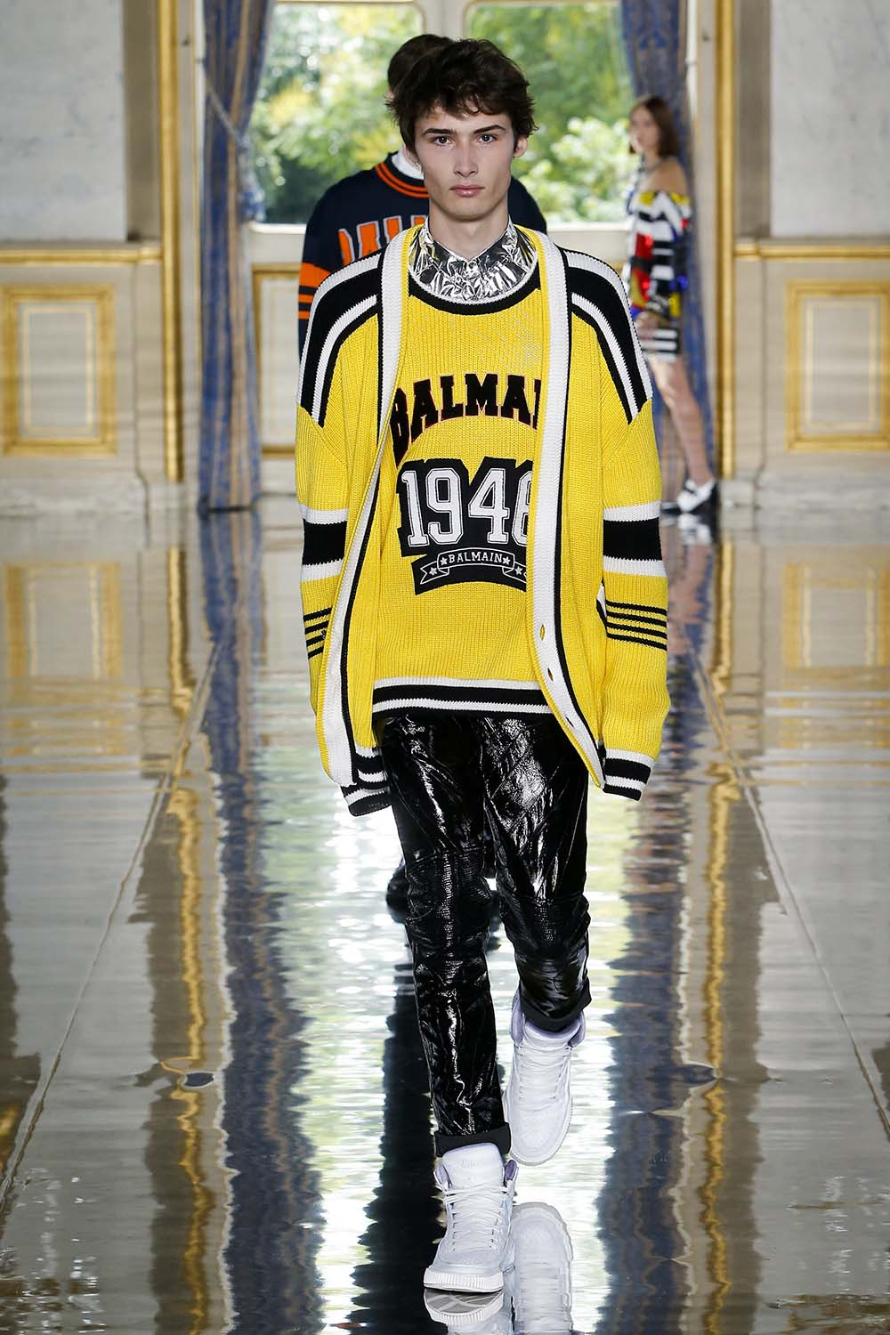 Balmain Paris Fashion Week Men's SS19 - Sagaboi - Look 45