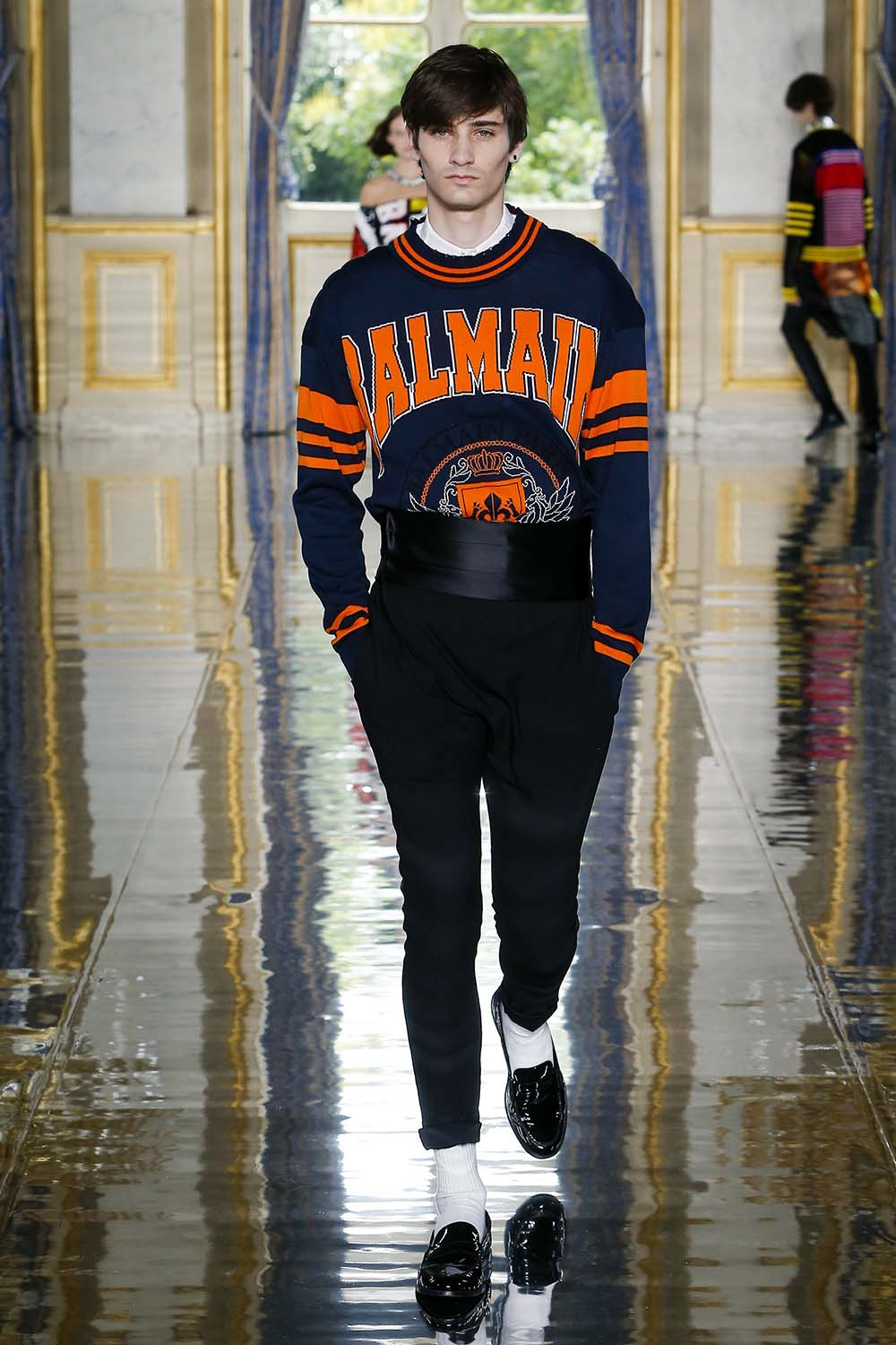 Balmain Paris Fashion Week Men's SS19 - Sagaboi - Look 46