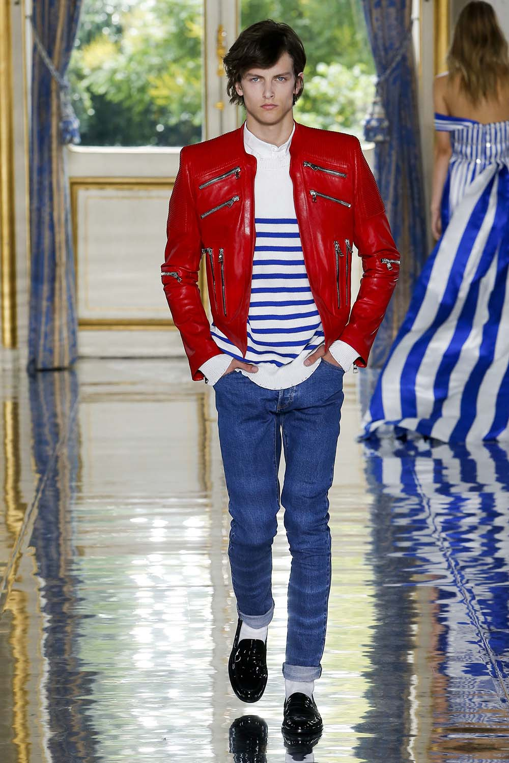 Balmain Paris Fashion Week Men's SS19 - Sagaboi - Look 5