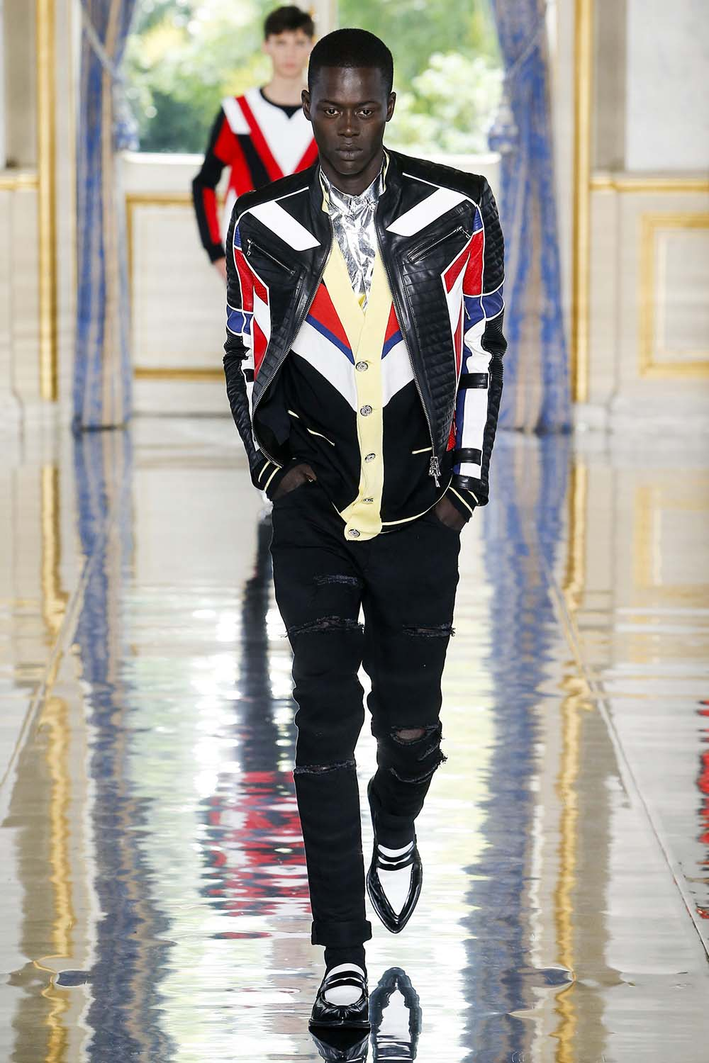 Balmain Paris Fashion Week Men's SS19 - Sagaboi - Look 51