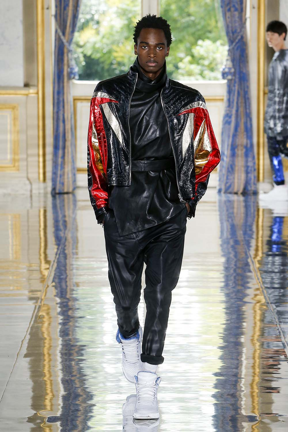 Balmain Paris Fashion Week Men's SS19 - Sagaboi - Look 53