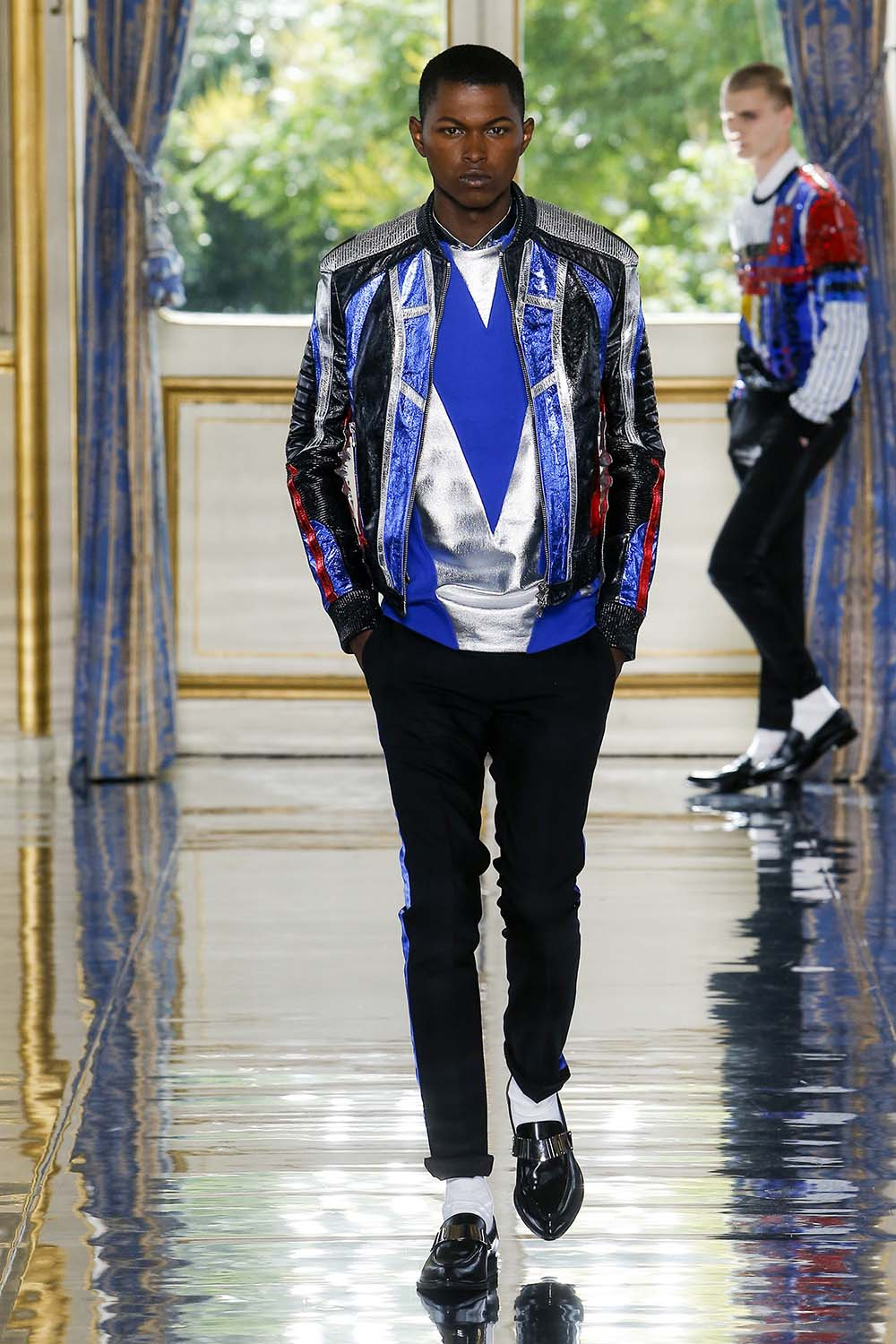 Balmain Paris Fashion Week Men's SS19 - Sagaboi - Look 55