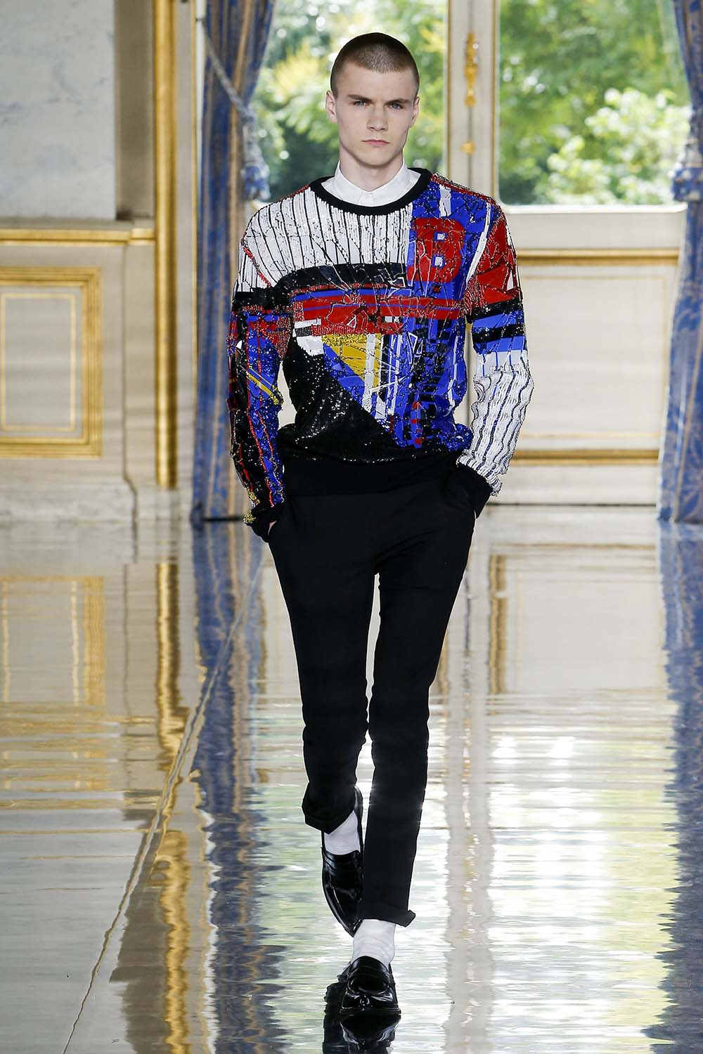 Balmain Paris Fashion Week Men's SS19 - Sagaboi - Look 56