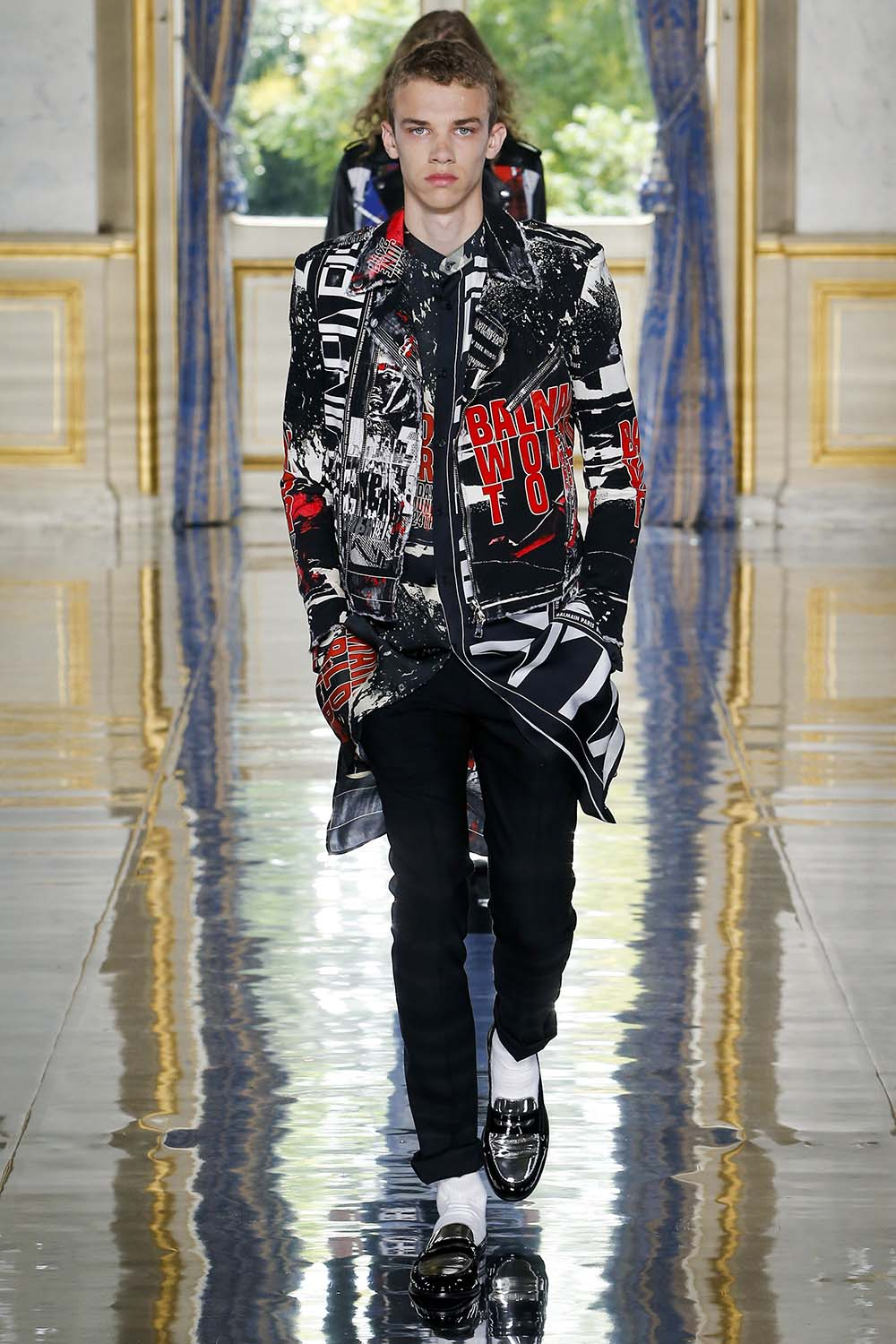 Balmain Paris Fashion Week Men's SS19 - Sagaboi - Look 60