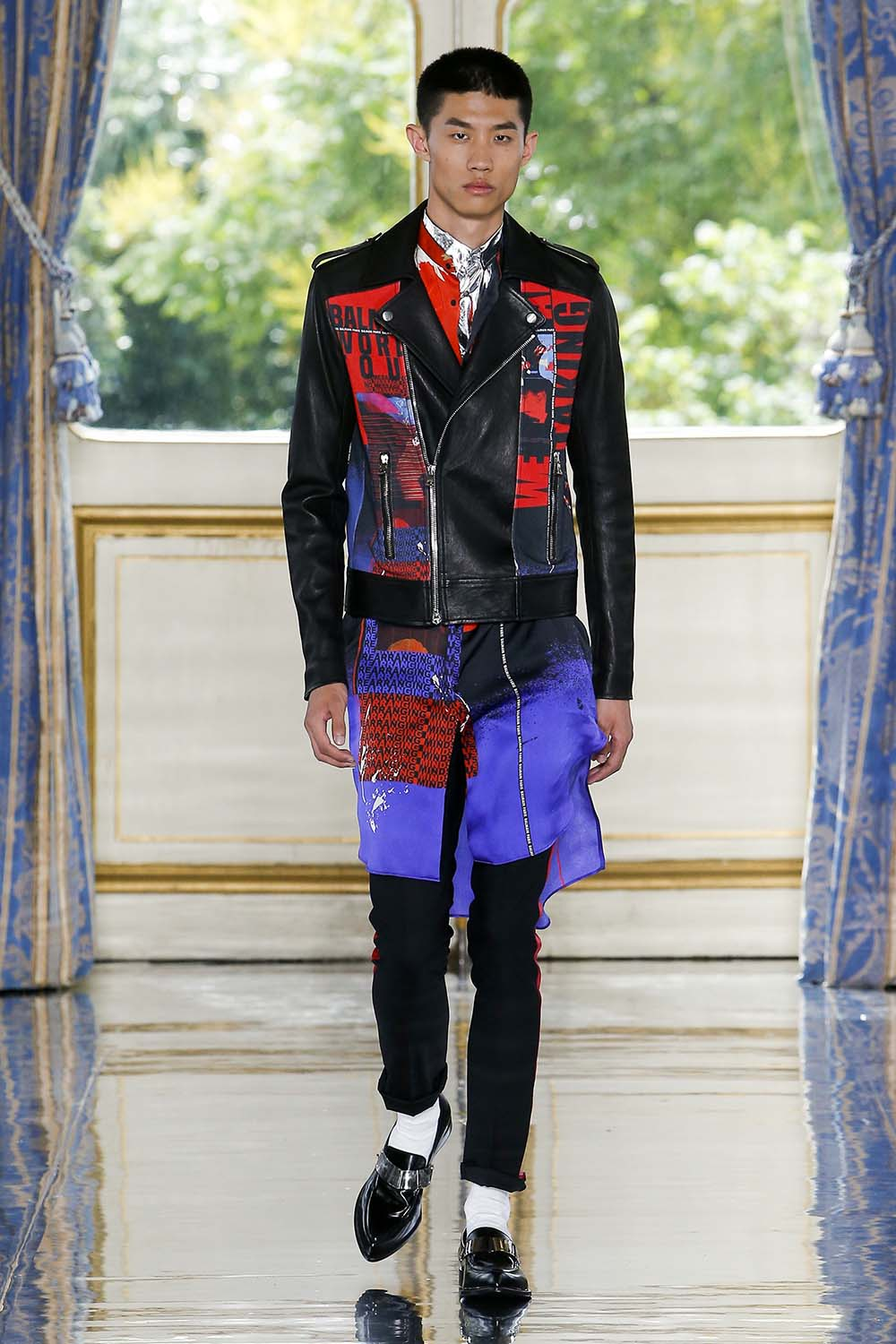 Balmain Paris Fashion Week Men's SS19 - Sagaboi - Look 62