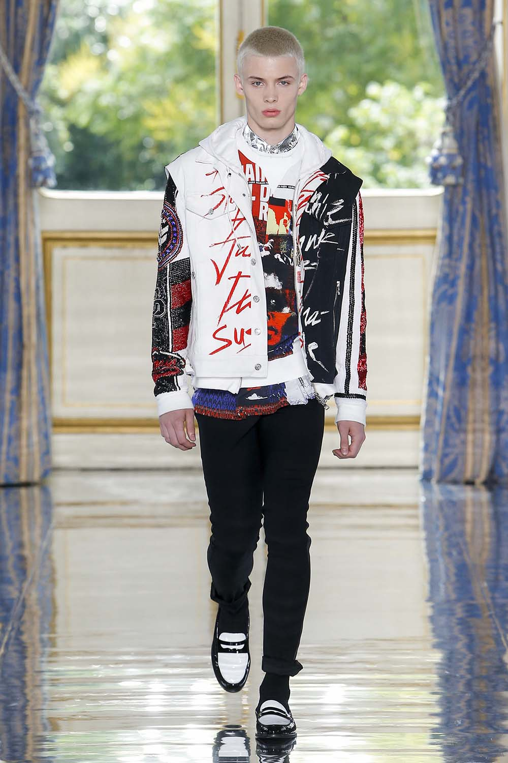 Balmain Paris Fashion Week Men's SS19 - Sagaboi - Look 66