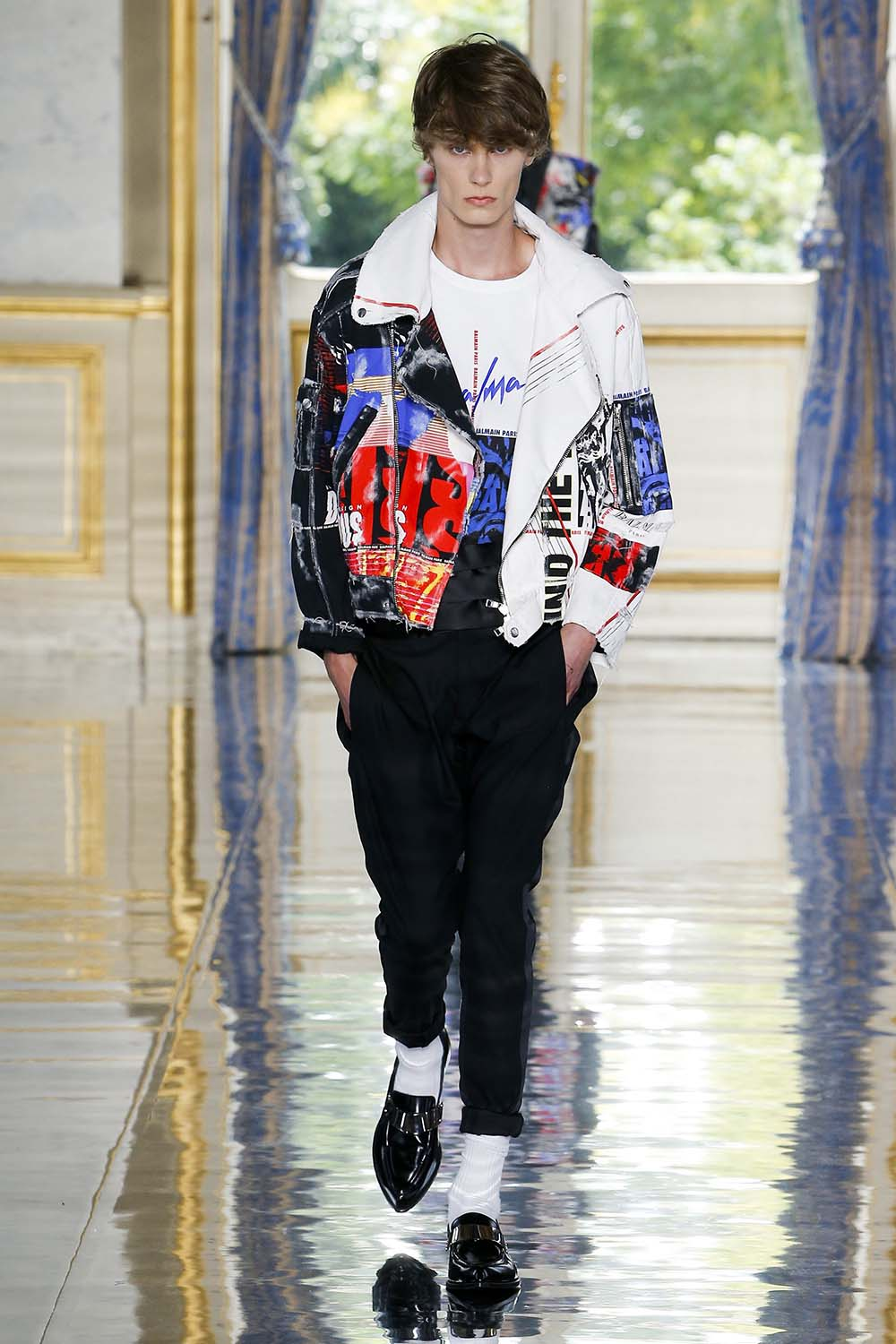 Balmain Paris Fashion Week Men's SS19 - Sagaboi - Look 68