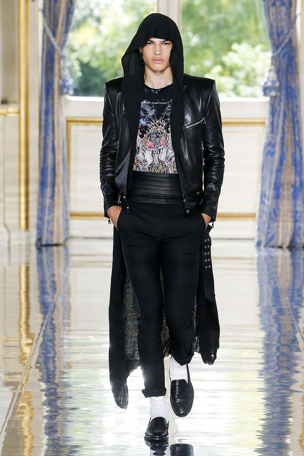 Balmain Paris Fashion Week Men's SS19 - Sagaboi - Look 72