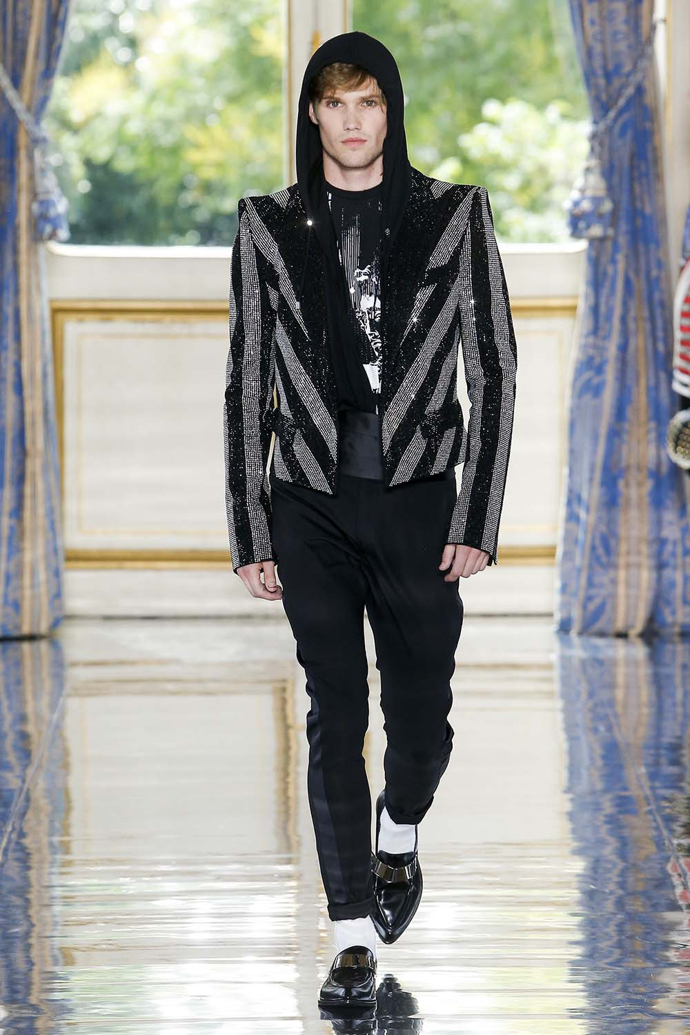 Balmain Paris Fashion Week Men's SS19 - Sagaboi - Look 78