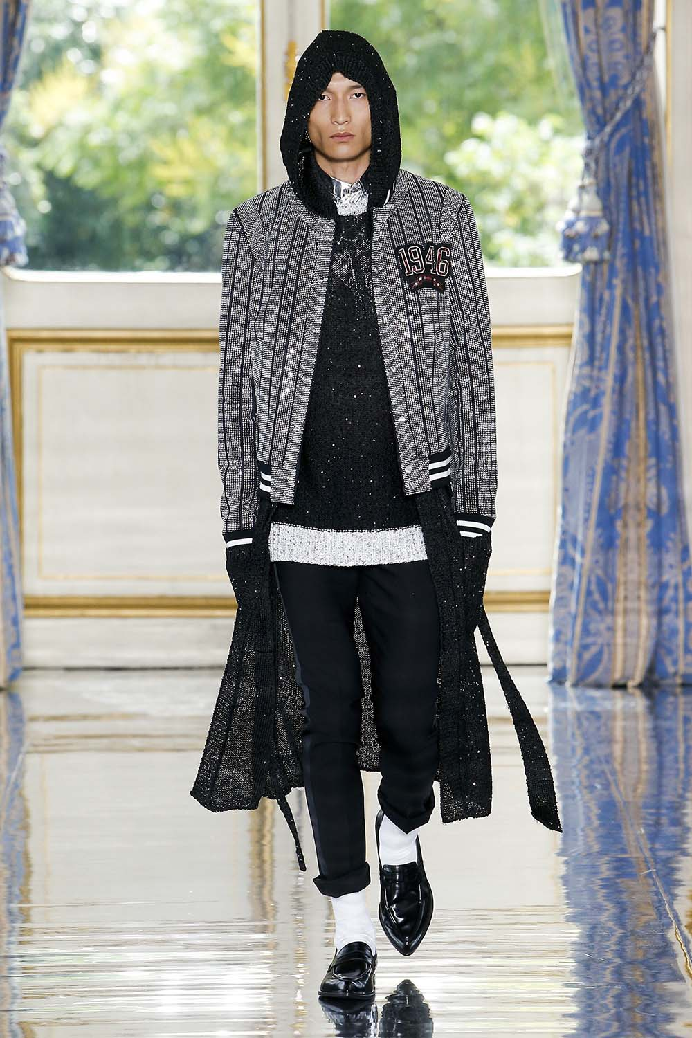 Balmain Paris Fashion Week Men's SS19 - Sagaboi - Look 80
