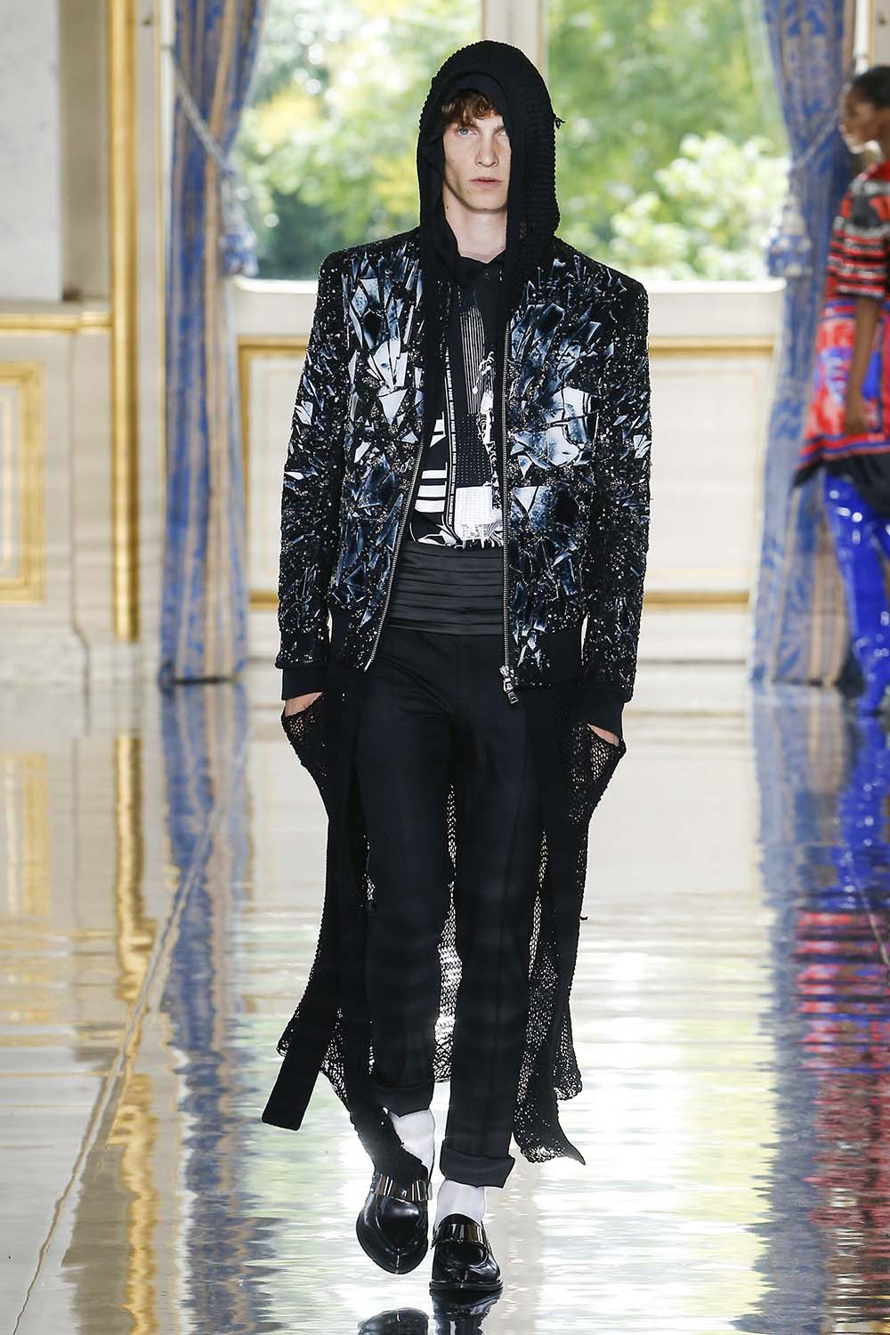 Balmain Paris Fashion Week Men's SS19 - Sagaboi - Look 82