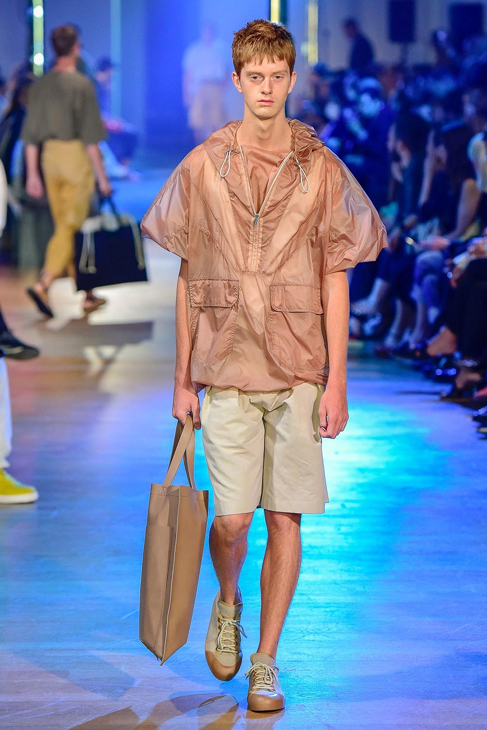Cerruti 1881 Paris Fashion Week Men's SS19 - Sagaboi - Look 12