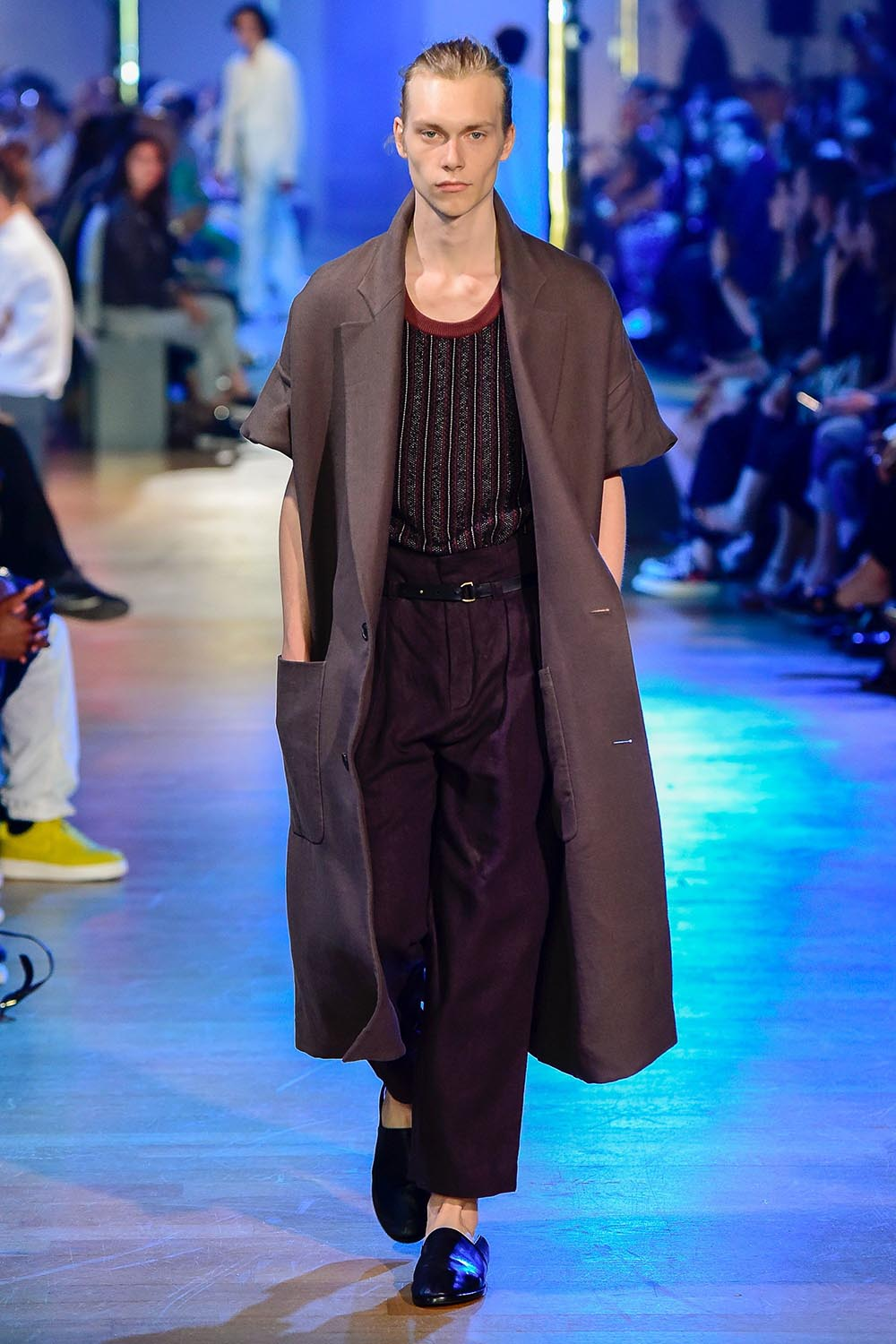 Cerruti 1881 Paris Fashion Week Men's SS19 - Sagaboi - Look 13