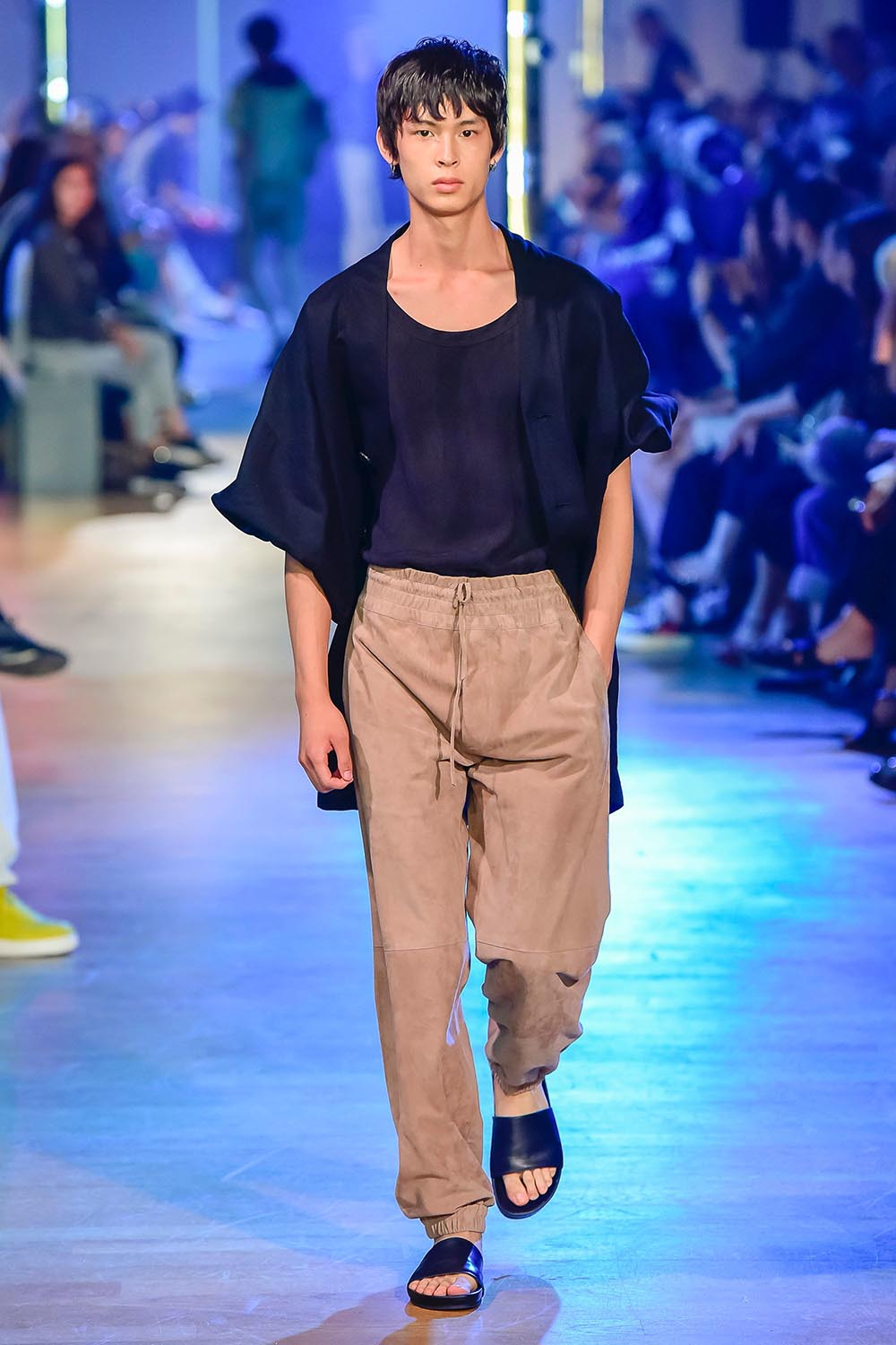 Cerruti 1881 Paris Fashion Week Men's SS19 - Sagaboi - Look 20