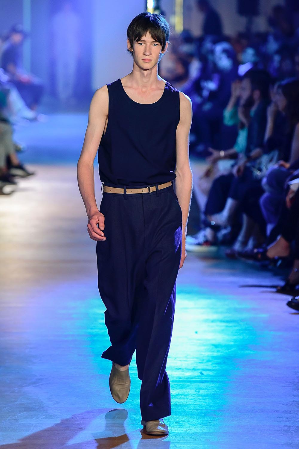 Cerruti 1881 Paris Fashion Week Men's SS19 - Sagaboi - Look 27