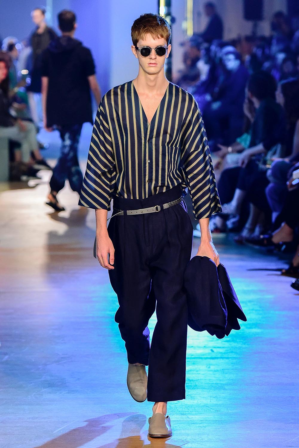 Cerruti 1881 Paris Fashion Week Men's SS19 - Sagaboi - Look 30