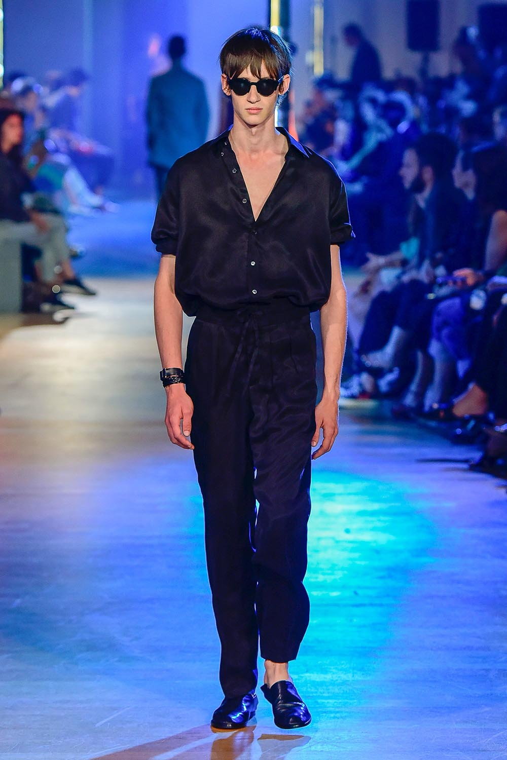 Cerruti Spring Summer 2019 Presetnation in Paris at Paris Fashio