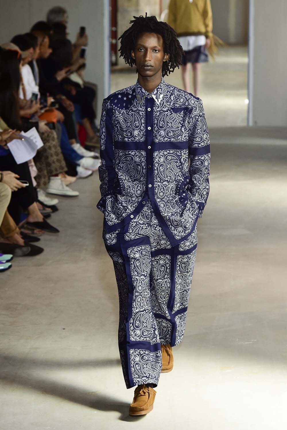 Etudes Paris Fashion Week Men's SS19 - Sagaboi - Look 1