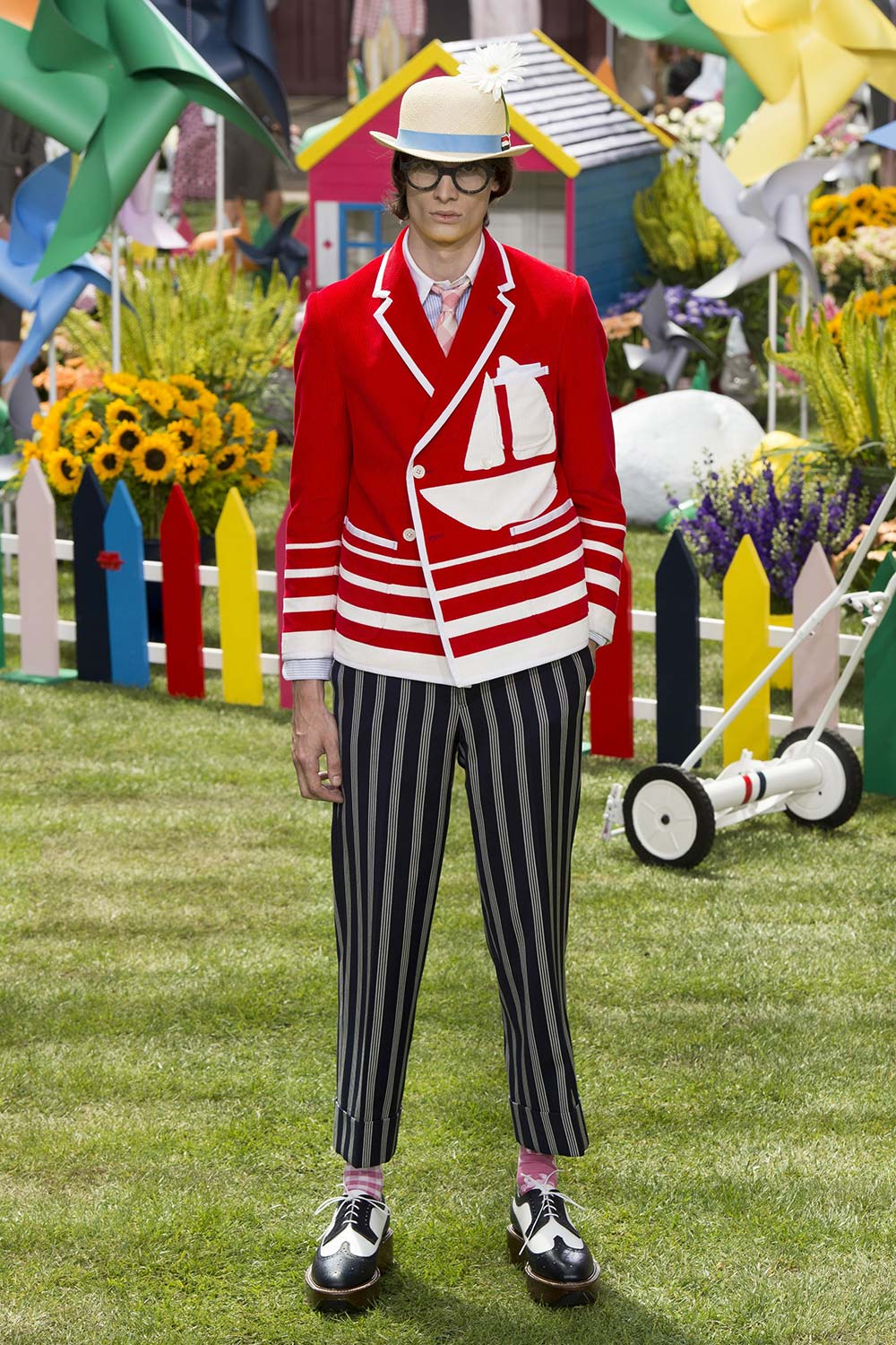 Thom Browne Spring Summer 2019 Presetnation in Paris at Paris Fa