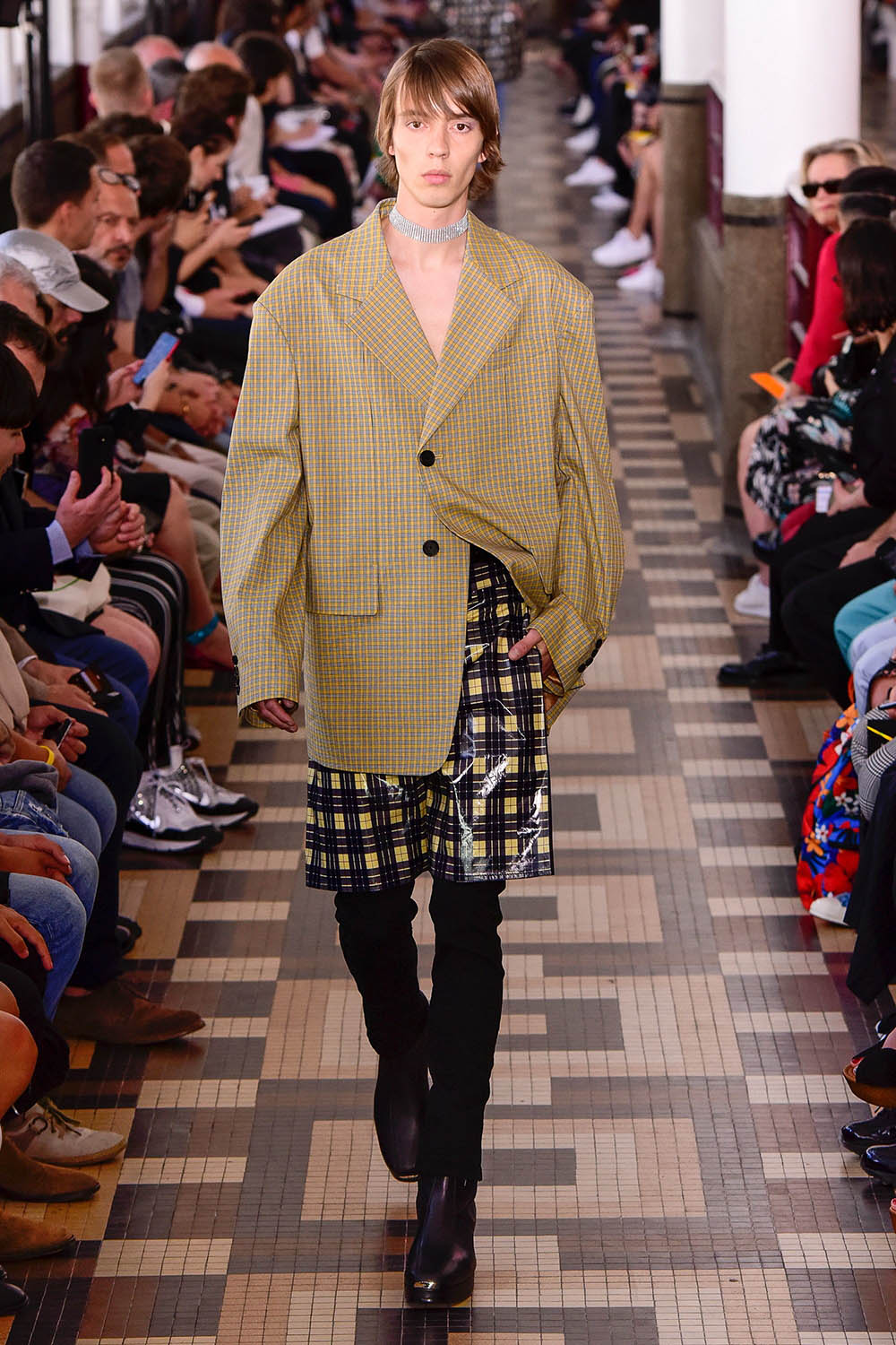 Wooyoungmi Paris Fashion Week Men's SS19 - Sagaboi - Look 10