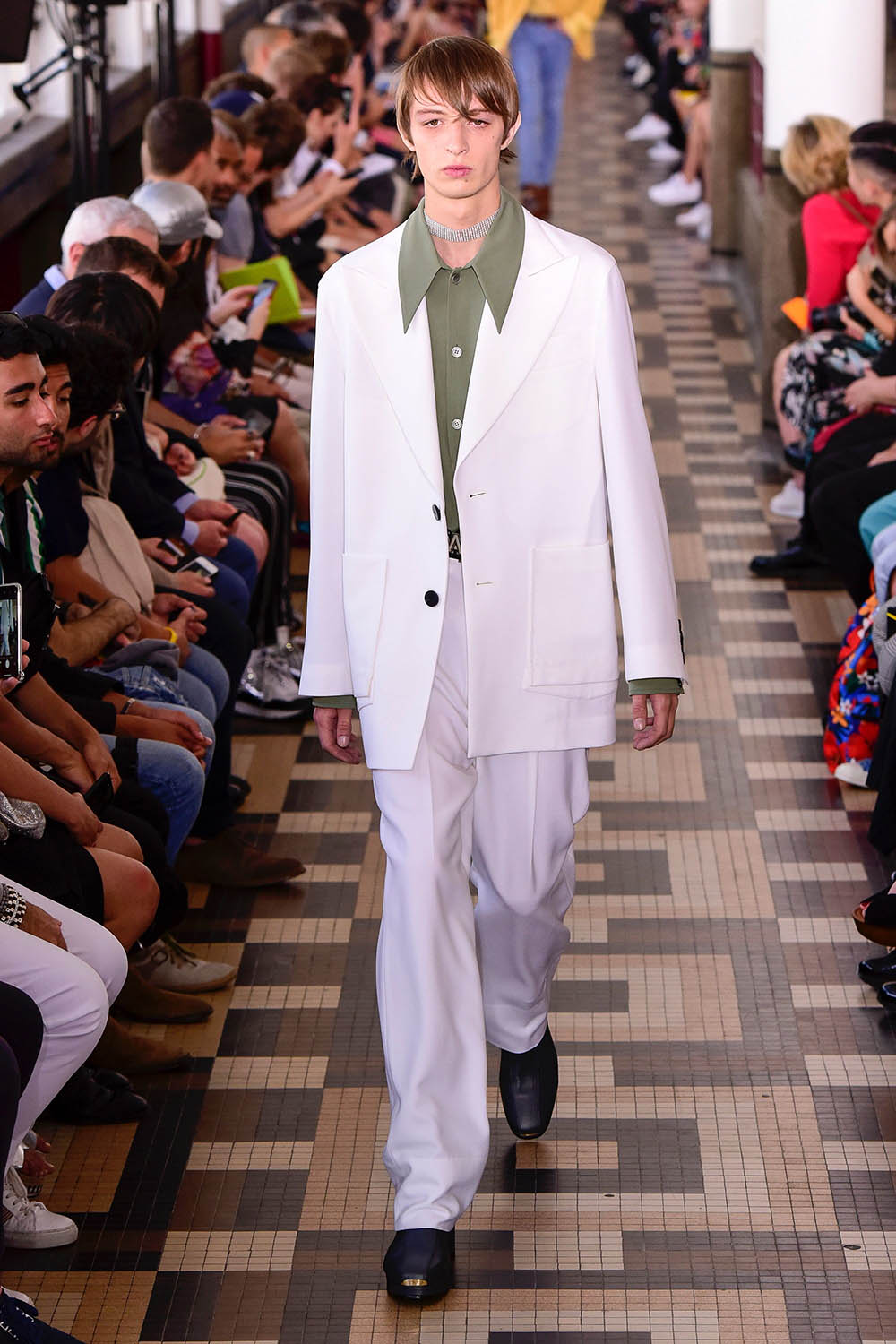 Wooyoungmi Paris Fashion Week Men's SS19 - Sagaboi - Look 12
