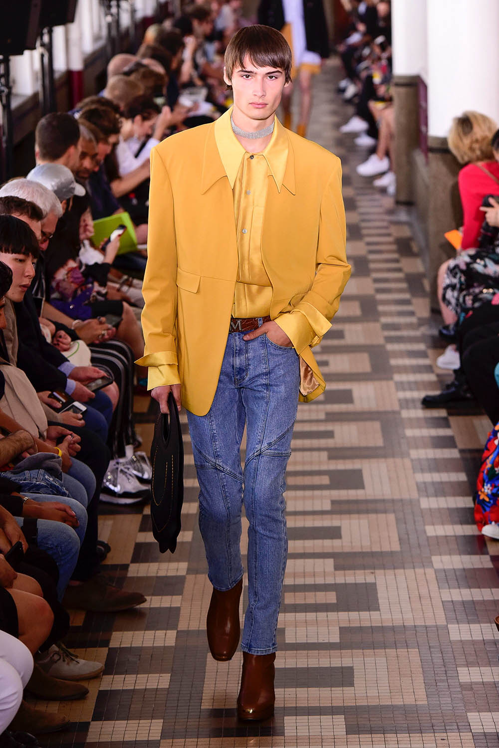 Wooyoungmi Paris Fashion Week Men's SS19 - Sagaboi - Look 13