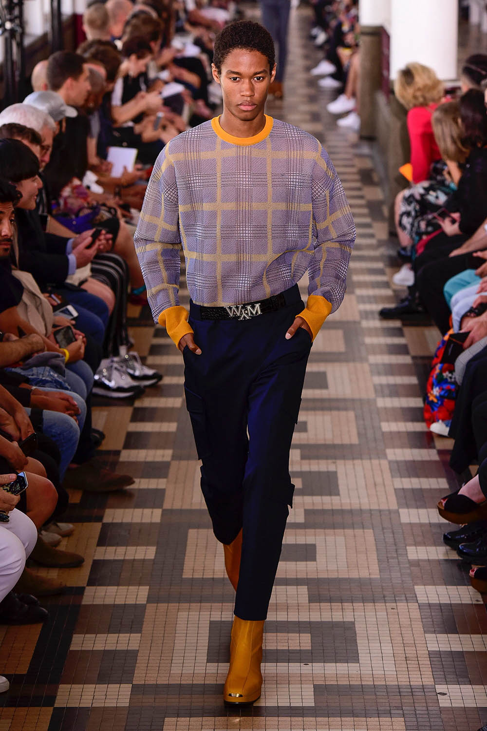 Wooyoungmi Paris Fashion Week Men's SS19 - Sagaboi - Look 15