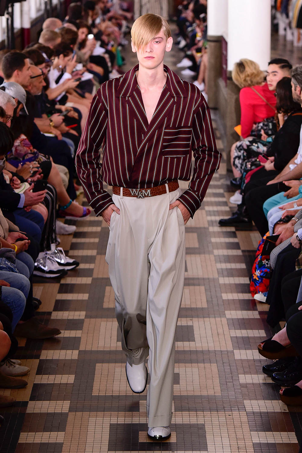 Wooyoungmi Paris Fashion Week Men's SS19 - Sagaboi - Look 17