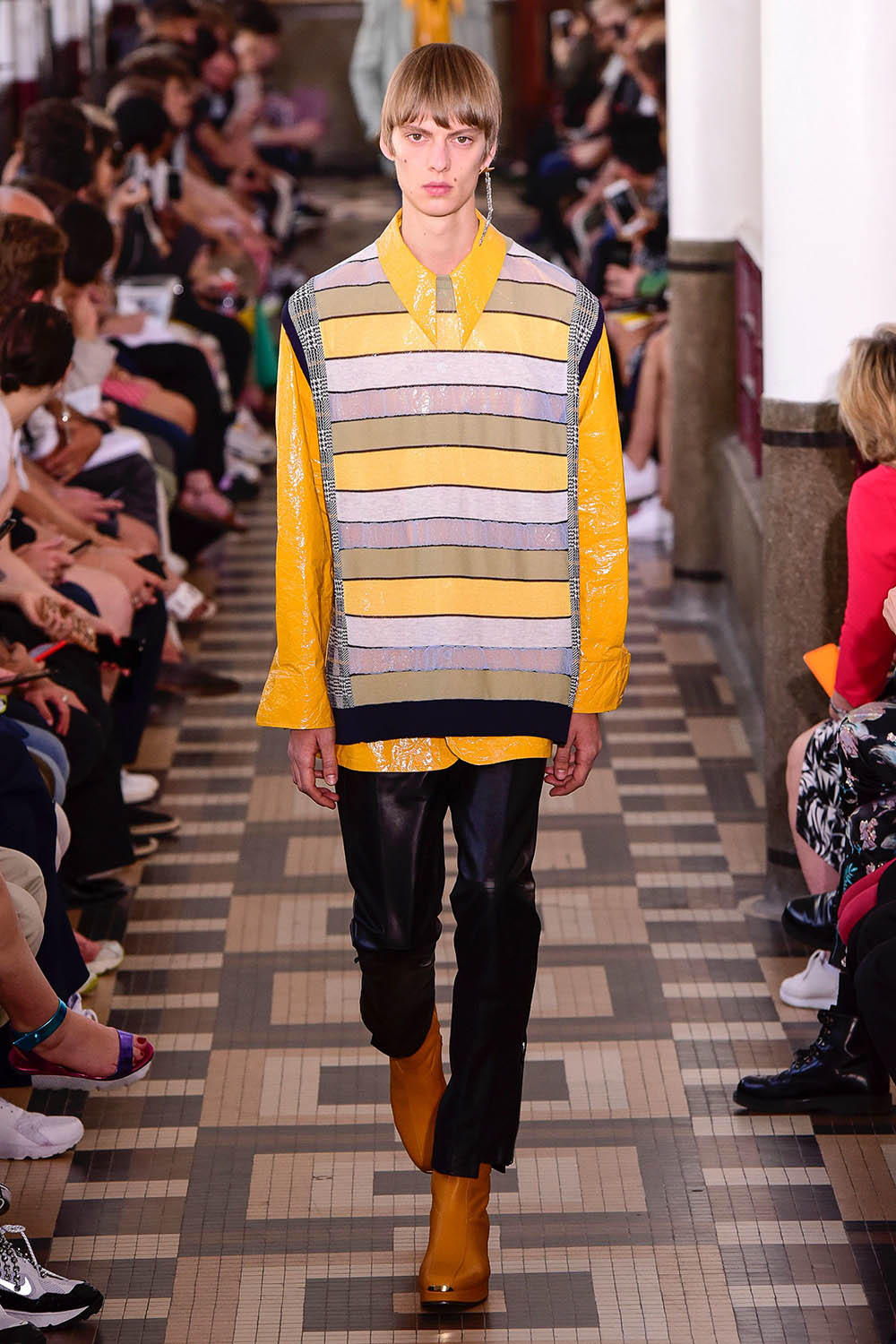 Wooyoungmi Paris Fashion Week Men's SS19 - Sagaboi - Look 21