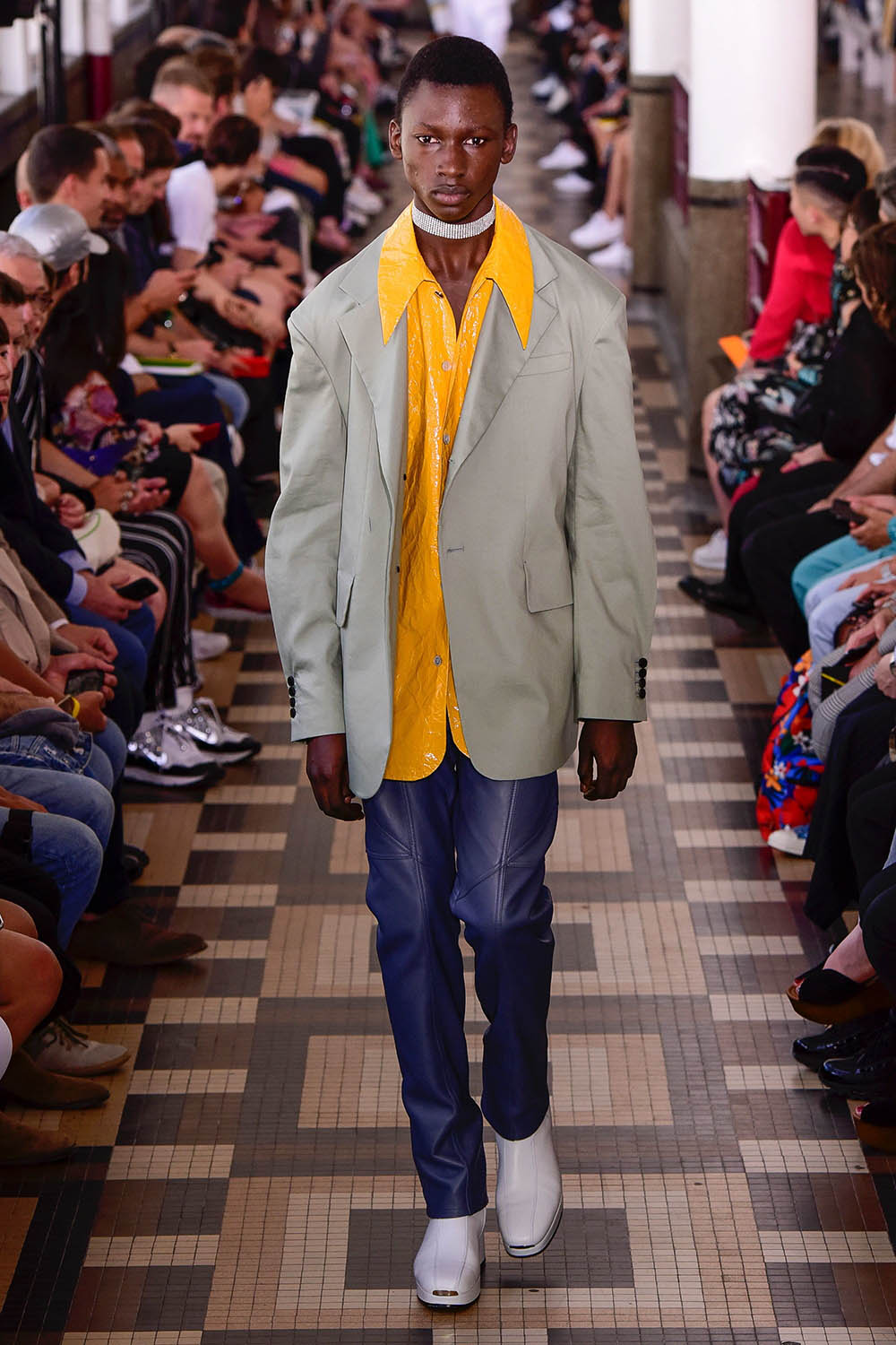 Wooyoungmi Paris Fashion Week Men's SS19 - Sagaboi - Look 22